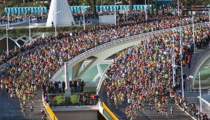 La Bolsa Viajera en la Maratón de Valencia 2017