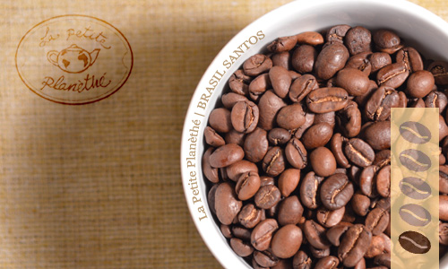 cafe origen Brasil Santos