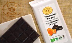 Chocolate Negro con Naranja y Canela BIO