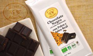 Chocolate Negro con Polen y Jalea Real BIO