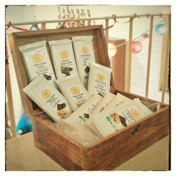 Selección de Chocolates orgánicos