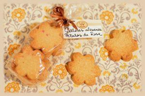 galletas de rosa