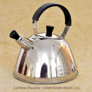 Hervidor de acero, para calentar el agua para tus tés.