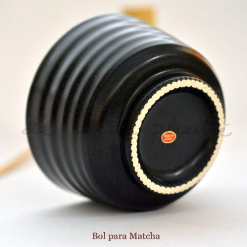 Bol para Matcha negro
