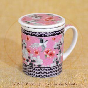 taza con infusor NESAJA 1