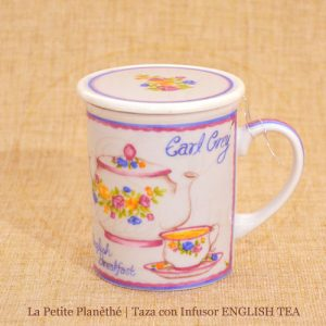 taza con infusor ENGLISH TEA