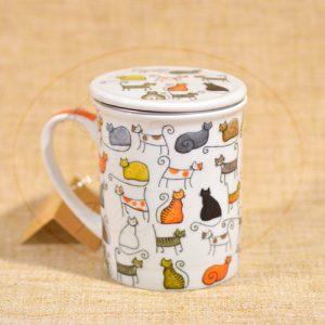 taza con infusor Miau!